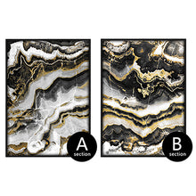 marble decorative canvas wall art