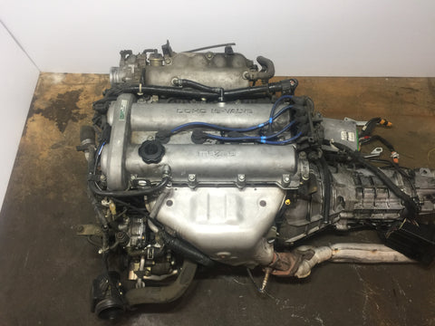 99 05 JDM Mazda Miata MX-5 BP Engine 6 Speed Transmission 1.8L DOHC Motor