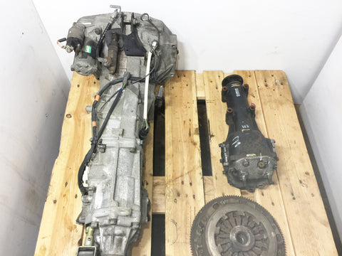 JDM Subaru Impreza WRX Turbo 5 speed AWD Transmission 4.444 Differential 02-03 TY754VBBAA