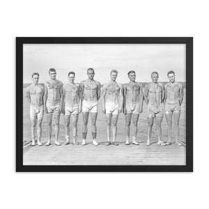 TATTED JOCK CREW - Framed