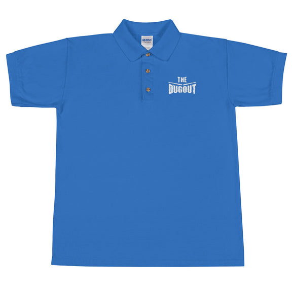 The Dugout Royal Embroidered Polo