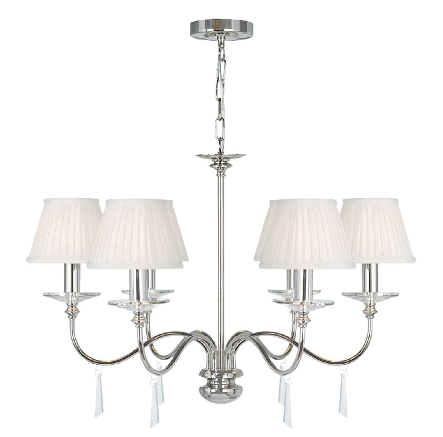 Finsbury Park 6 Arm Chandelier - London Lighting - 1