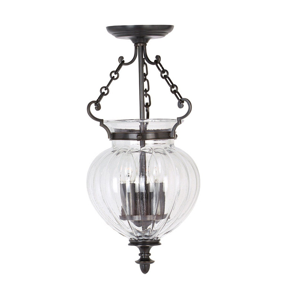 Finsbury Park Pendant Small - London Lighting - 1