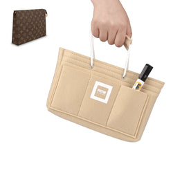 LV TOILETRY 26 Organizer GIFTS INCLUDED : Cable Holders+Lipstick Holders / Mini Wallet[Maldives Sand]