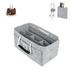 LOUIS VUITTON Retiro PM Organizer GIFTS INCLUDED : Cable Holders+Lipstick Holders / Mini Wallet[Cement Gray]