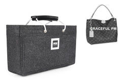 Graceful PM Organizer GIFTS INCLUDED : 1Cable Holders+1 Lipstick Holders/Mini Wallet