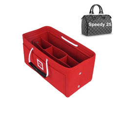 Louis Vuitton SPEEDY 25 Organizer [Sexy Red]