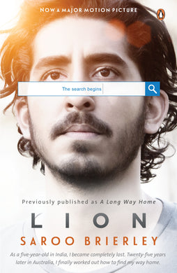 Lion: A Long Way Home (Movie Tie-In)