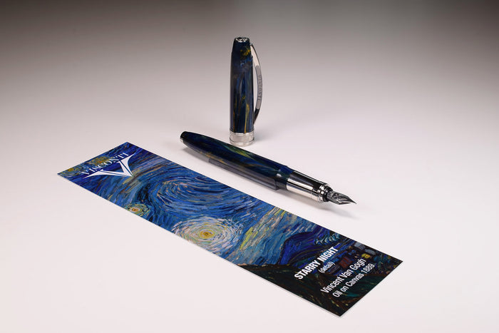 Visconti - Van Gogh The Impressionist - Italian Handcrafted Fountain Pen | Pen Venture - Passion for Luxury