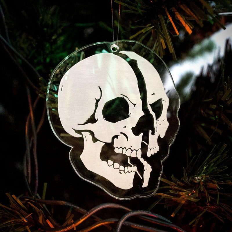 "Expire ""Skull"" Ornament"