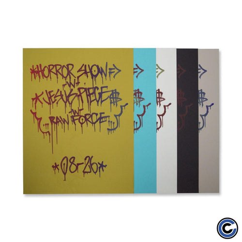 "Horror Show ""Graffiti"" Poster"
