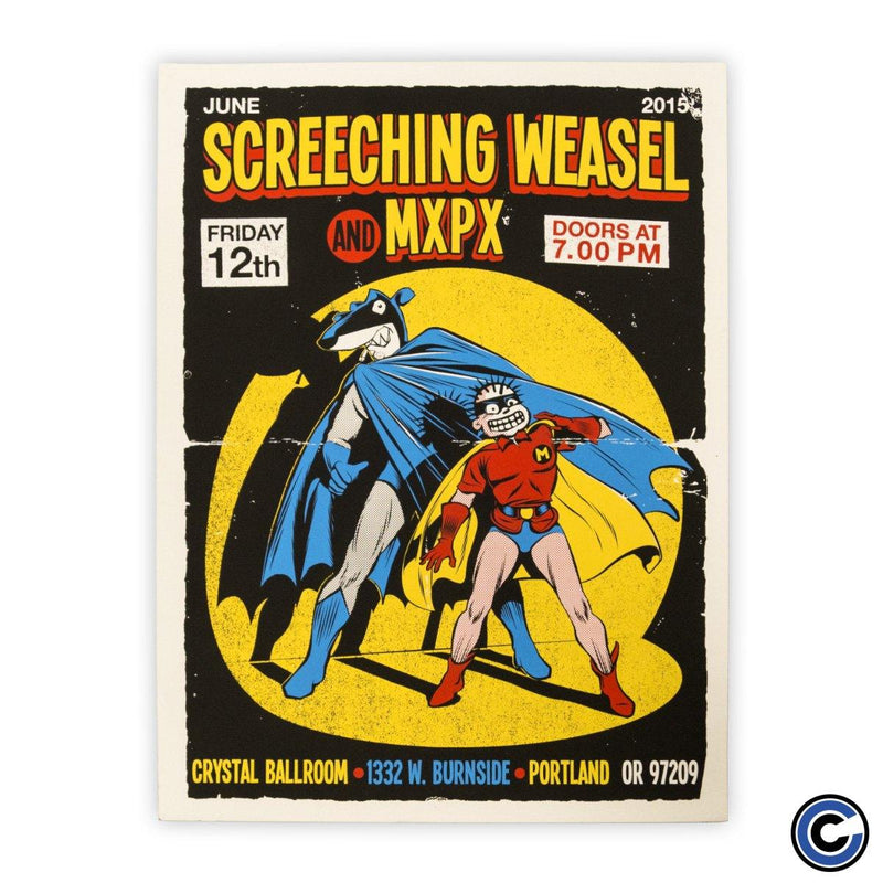 "Screeching Weasel ""Batman"" Poster"