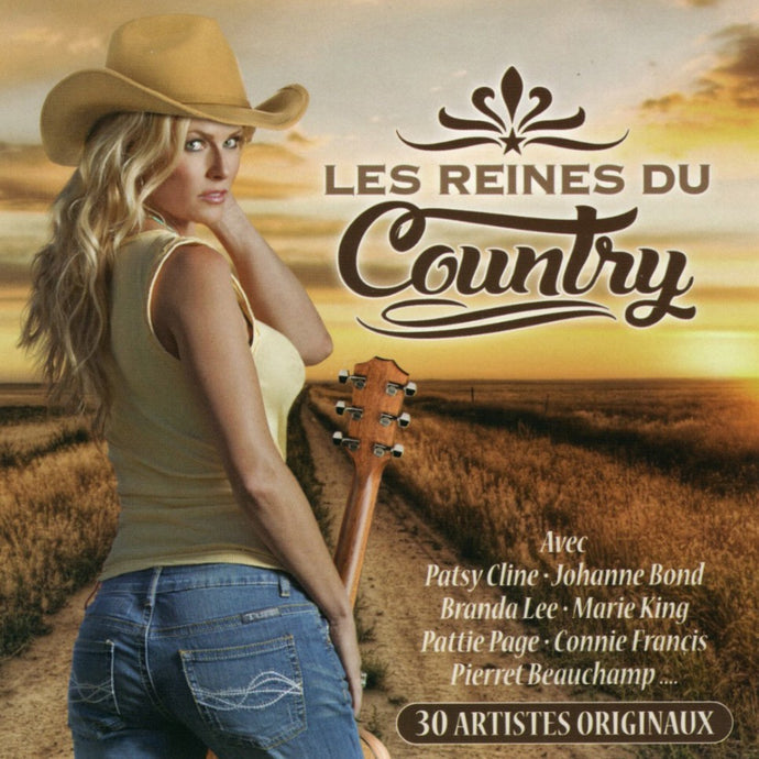 Artistes Varies / Les Reines Du Country - CD