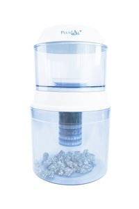 1 Year Dispenser Pack – Dispenser Unit (includes Upper Tank, Lower Tank, 1 x ceramic filter, 1 x 5 stage filters, 1 x mineral stones) + 1 x extra 5 stage filter