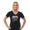 CH - Ladies V Neck Tee