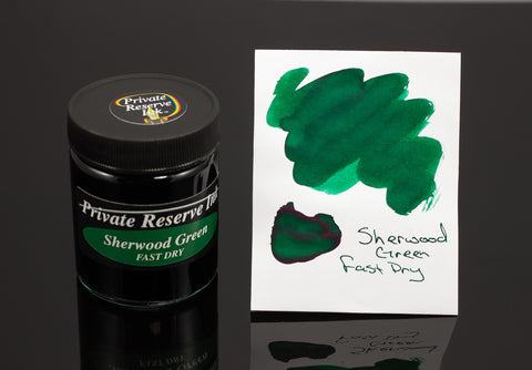 Private Reserve Bottled Ink, Sherwood Green Fast Dry
