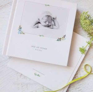 Photo Album Templates: Bohemian Baby Book