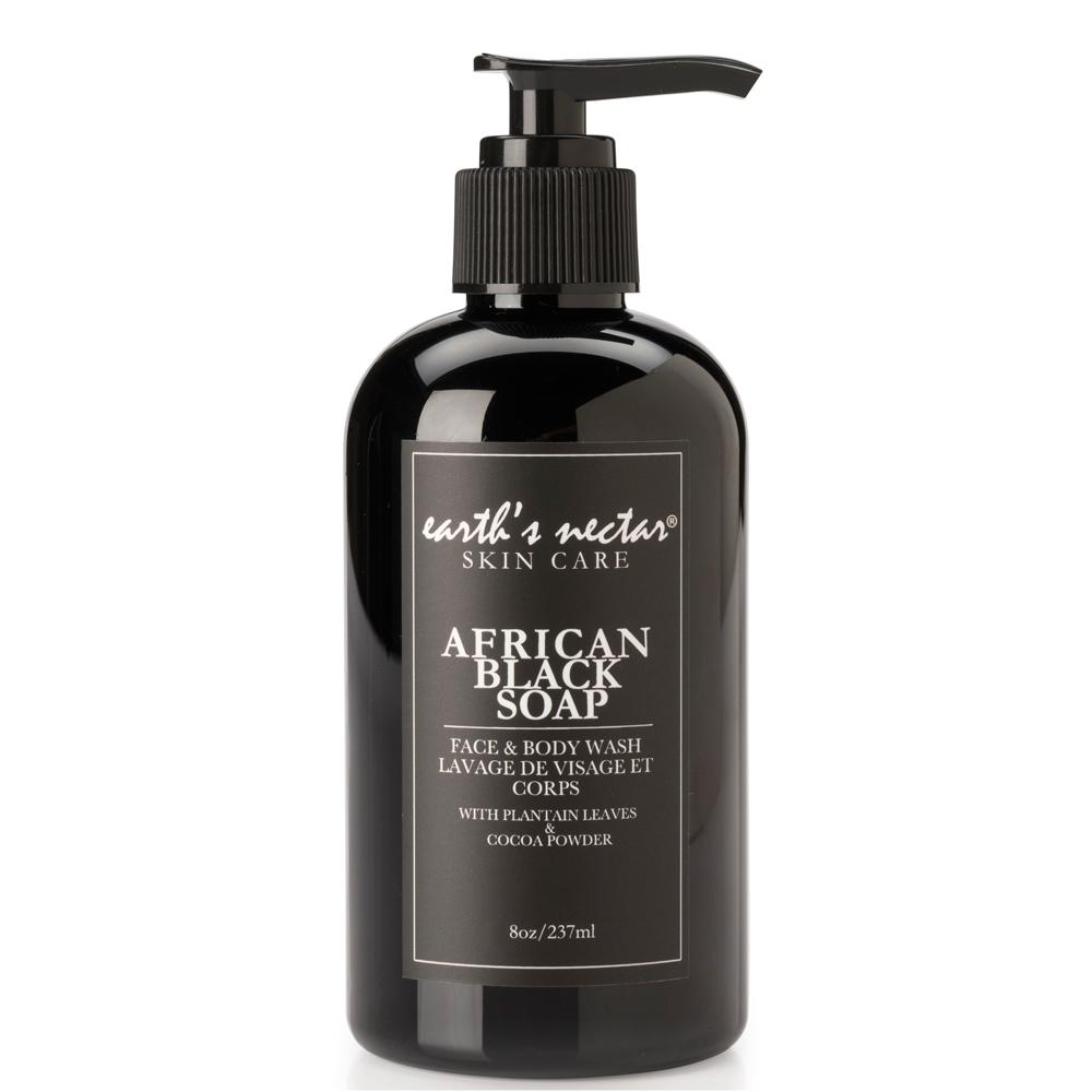 AFRICAN LIQUID BLACK SOAP
