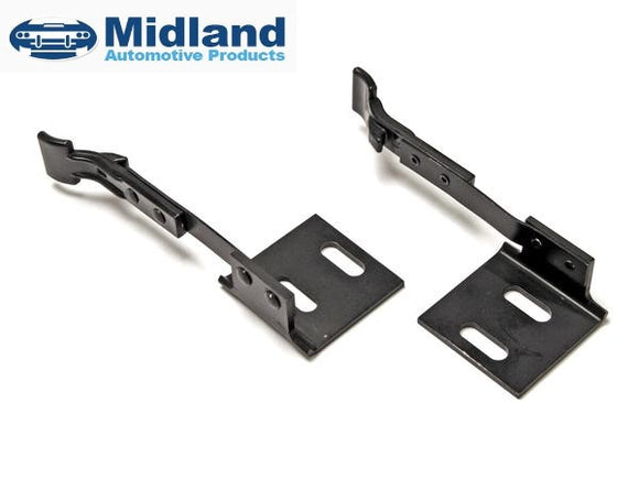 1964 1965 1966 1967 1968 Mustang Convertible Manual Top Hold Down Clamp Pair - Midland Automotive Products