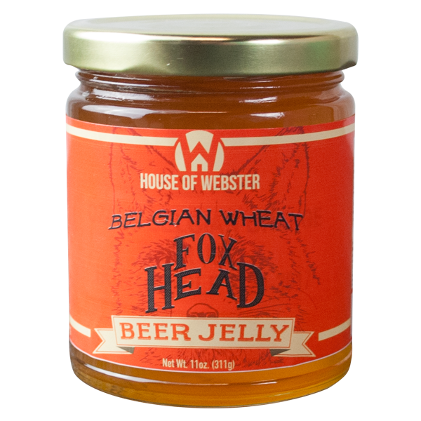Belgian Wheat Orange Beer Jelly