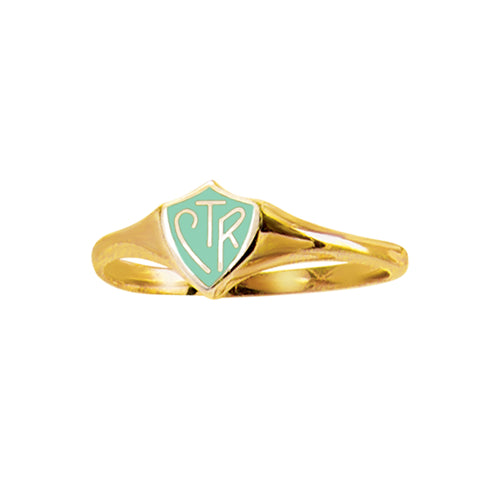 Mini CTR Ring – Gold Mint - stainless steel