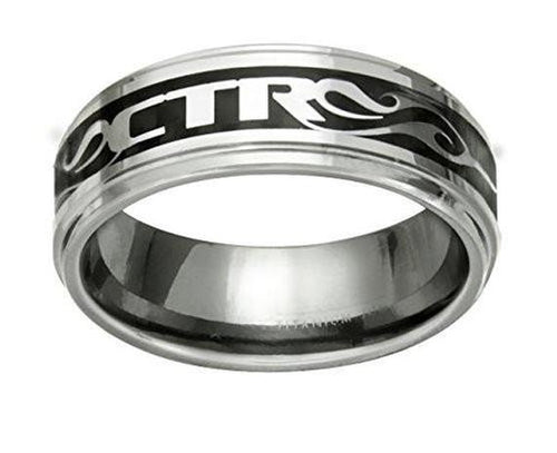 NFUZED CTR Ring - stainless steel