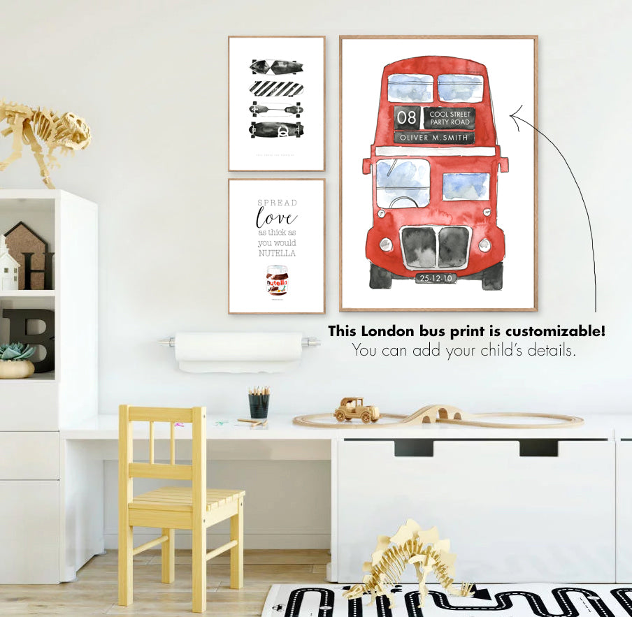London Bus - CUSTOMISABLE