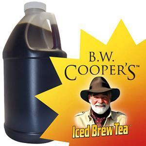 B.W. Coopers Tropical Green Tea (Sweet) Concentrate Jug