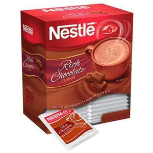 Nestle Rich Chocolate Hot Cocoa Mix 50 Count Box