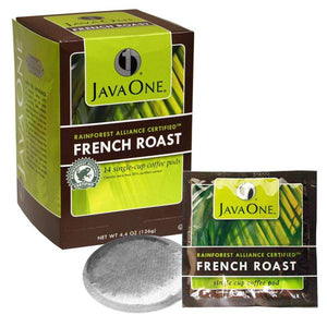 Java One Coffee Pods - Rainforest Alliance Certified™ French Roast