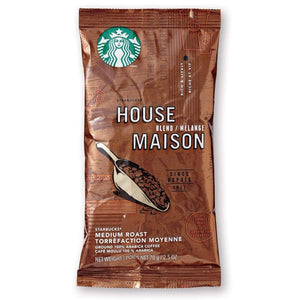 Starbucks Coffee - House Blend - 2.5oz Pillow Pack - 18 count Box