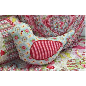 Tea Party Bird Cushion