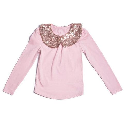Copy of All That Glitters Top - Pink