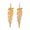 Image of Long Redwood Fern Earrings