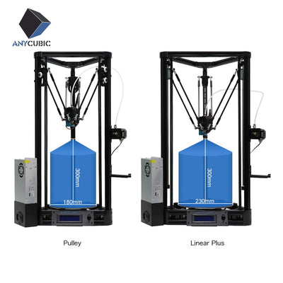 ANYCUBIC 3D Printer Pulley or Linear Plus Half of Assembled with Auto Leveling Large 3D Printing Size Impressora 3D DIY Kit - Primo Print