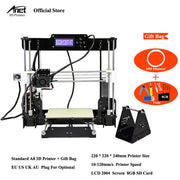 Anet A8 Auto level & Normal 3D Printer 0.4mm Nozzle  i3 Aluminium Alloy Hotbed Pritner DIY Kit Filament 8G SD Card - Primo Print