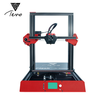 TEVO Flash 3D Printer Fully Aluminum Frame Printing Machine Stable and Quick with Titan Extruder SD card Printing Prebuilt 50% - Primo Print