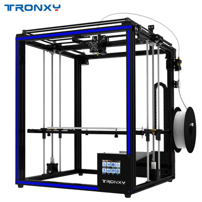 Newest 2018 Tronxy 3D Printer X5SA-400 High Accuracy Fast Speed DIY Assembly Printer with Sensor 3.5 inches Touch Screen - Primo Print