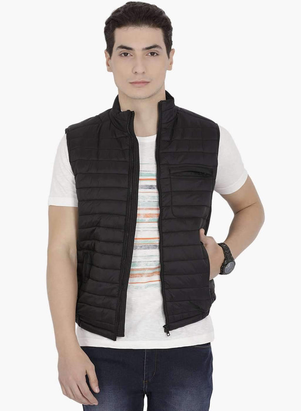 Richlook Casual Black Jacket