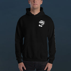 Brutality Skull Hooded Sweatshirt