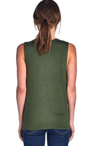 Camping Squad Muscle Tank Top