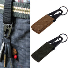 Load image into Gallery viewer, High Quality  Backpack Carabiner Snap D Ring Clip Locking Tactical Hiking Camping Tool