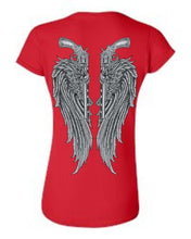 Load image into Gallery viewer, Women's Juniors Beautiful Angel Wings Pistols