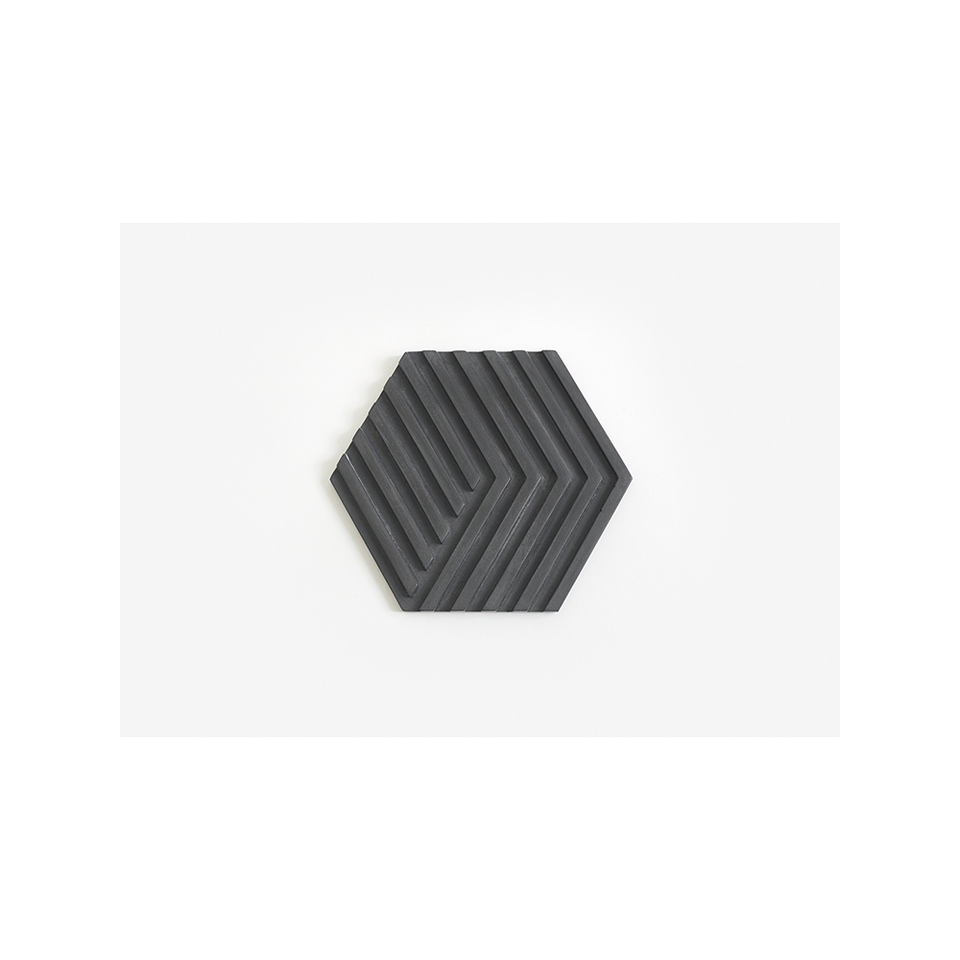 AREAWARE Table Tile Trivet - Black | the OBJECT ROOM