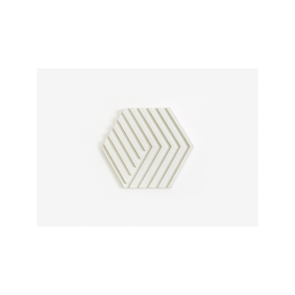 AREAWARE Table Tile Trivet - White | the OBJECT ROOM