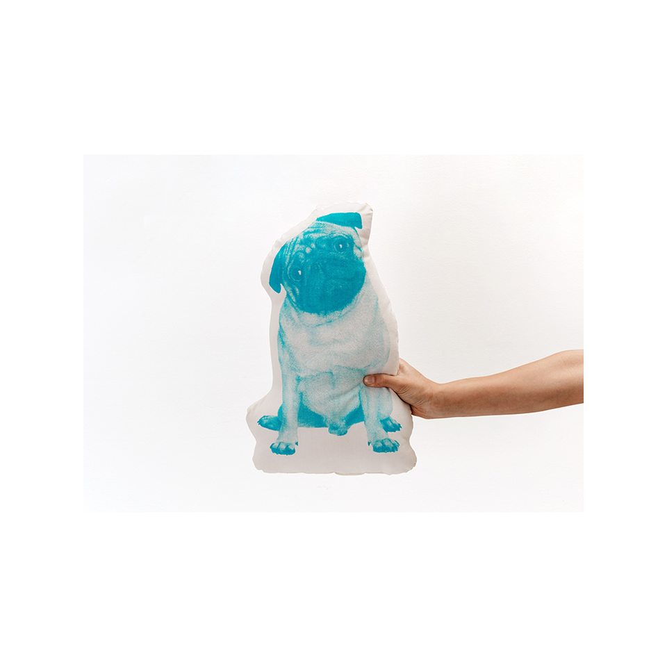 AREAWARE Fauna Pop Cushion - Pug | the OBJECT ROOM