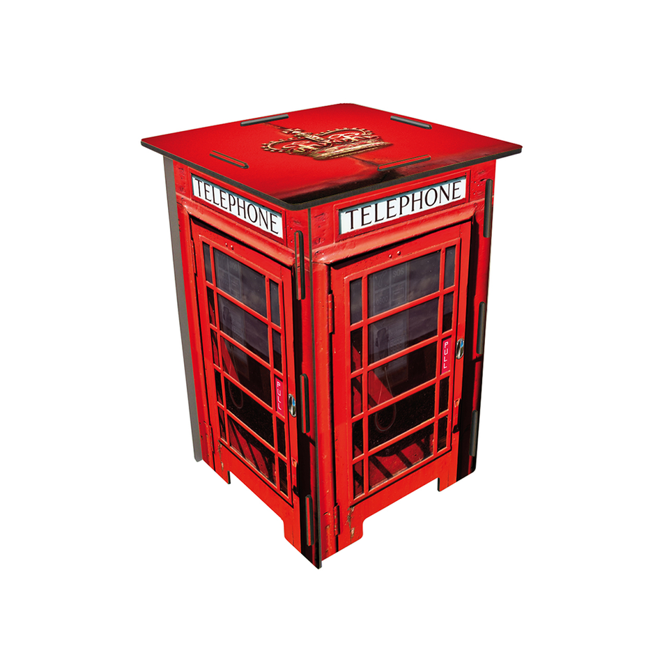 WERKHAUS WH Photostool - London Phone Booth - the OBJECT ROOM - Bangkok, Thailand