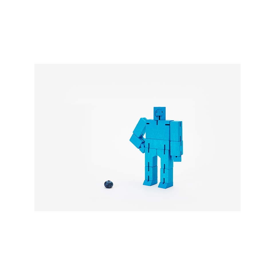 AREAWARE Cubebot Small - Blue | the OBJECT ROOM