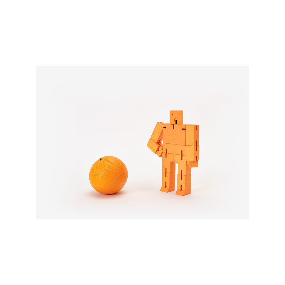 AREAWARE Cubebot Small - Orange | the OBJECT ROOM