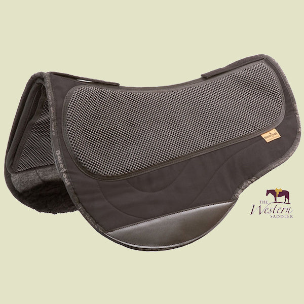 Barefoot Arizona/Atlanta/Happy/Lazy Black Physio Saddle Pad